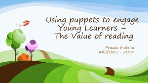 Using puppets to engage Young Learners –